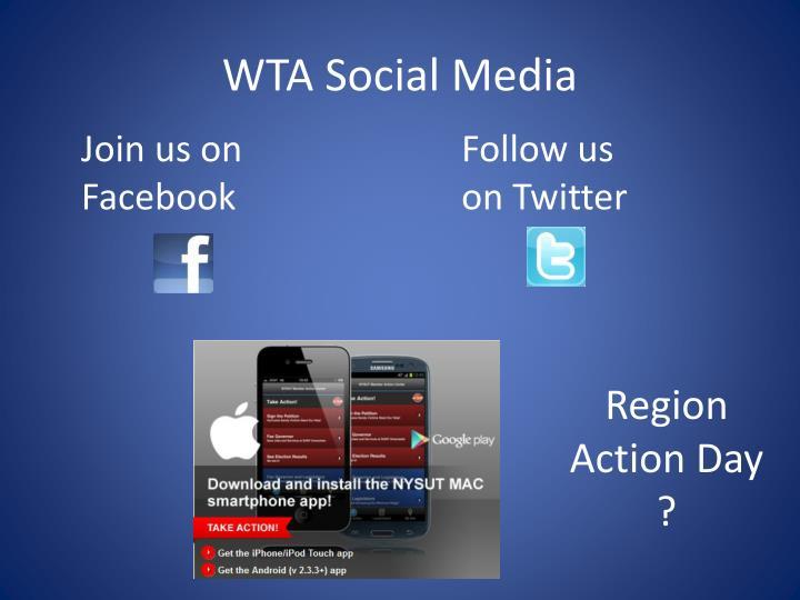 WTA Social Media