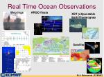 real time ocean observations
