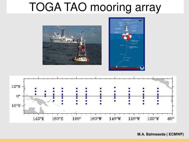 TOGA TAO mooring array