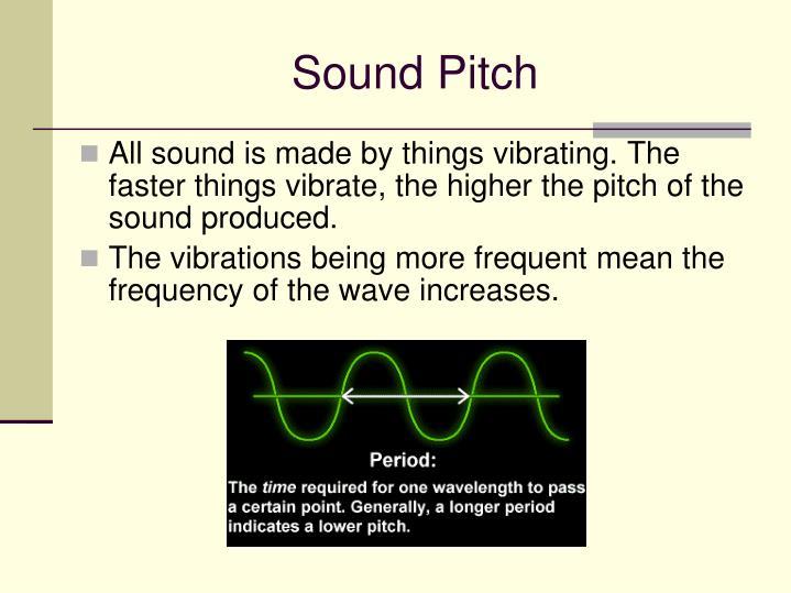 Sound Pitch