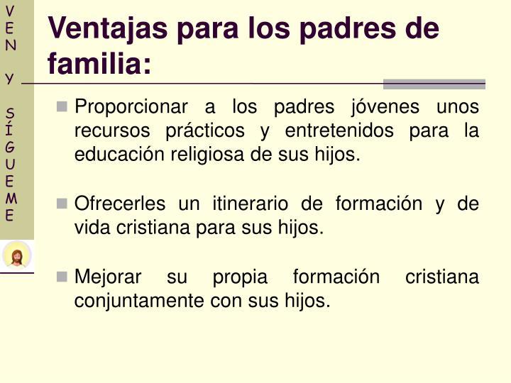 Proporcionar a los padres jóvenes unos recursos prácticos y entretenidos para la educación religiosa de sus hijos.