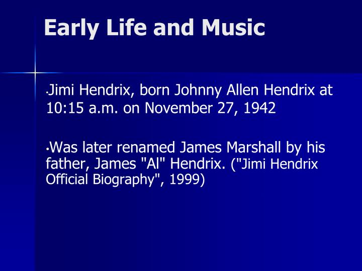 Early Life and Music