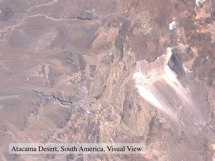 Atacama Desert, South America, Visual View