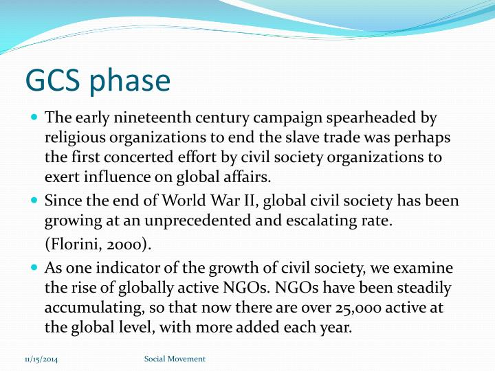 GCS phase