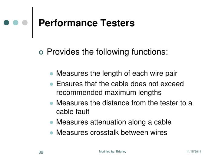 Performance Testers