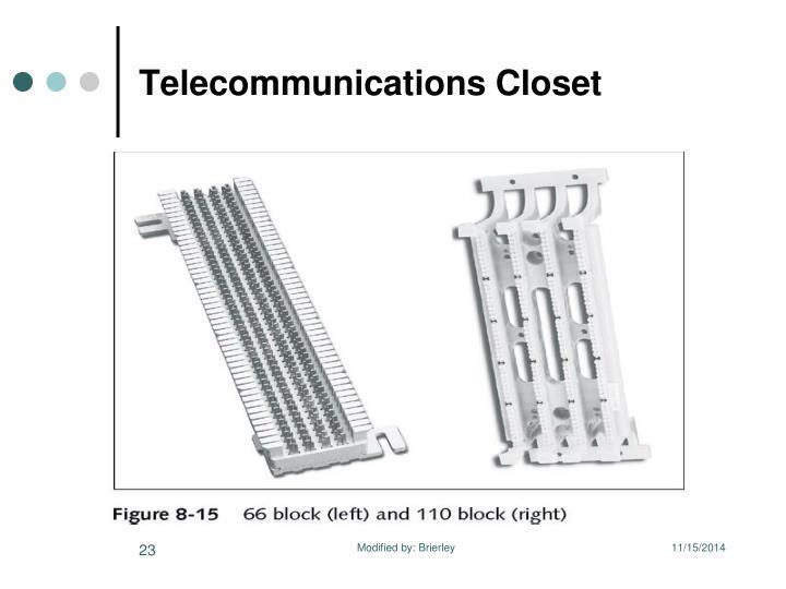 Telecommunications Closet