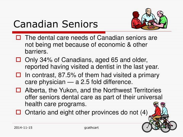 Canadian Seniors