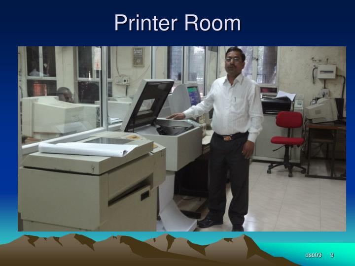 Printer Room