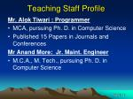 teaching staff profile2