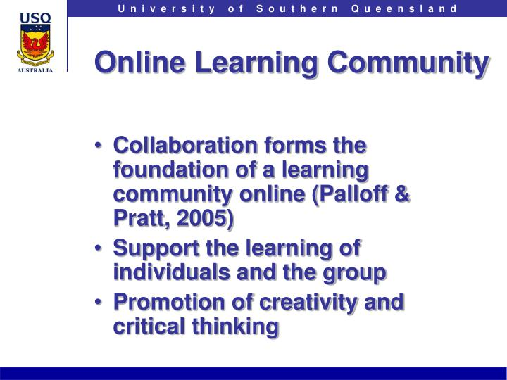 Online Learning Community