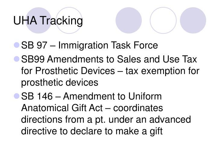 UHA Tracking