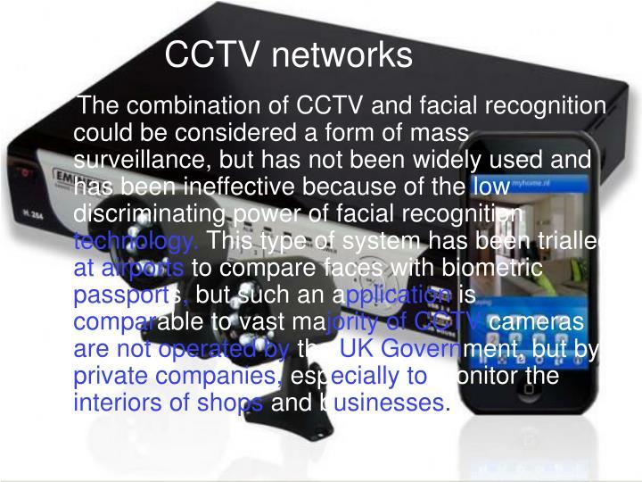 CCTV networks
