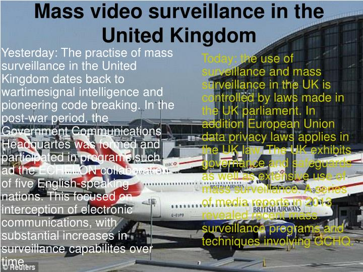 Mass video surveillance in the United Kingdom
