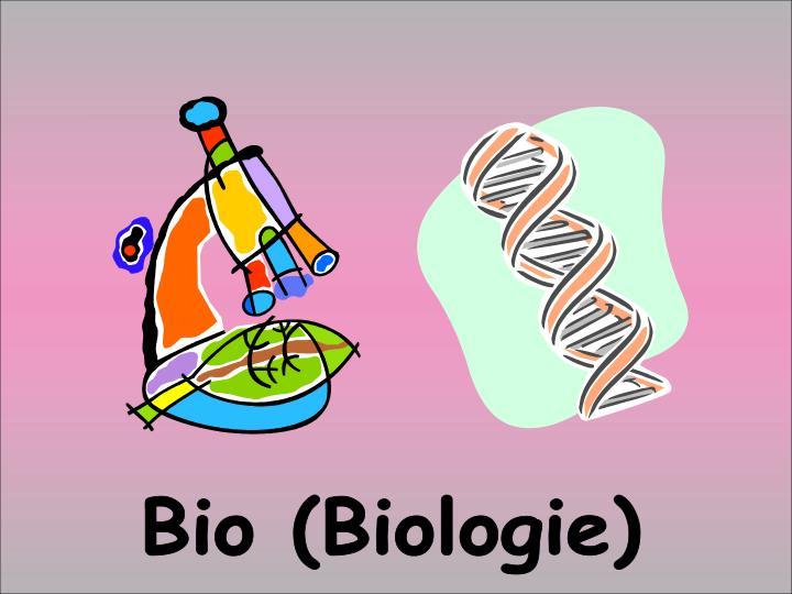 Bio (Biologie)