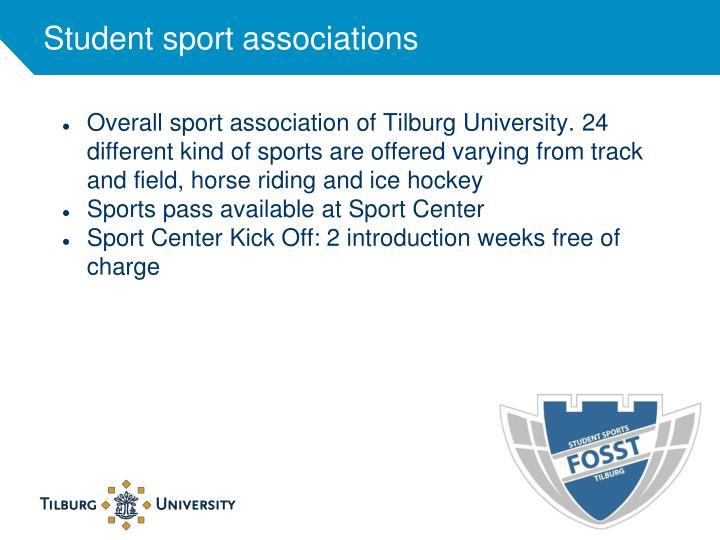 Student sport associations