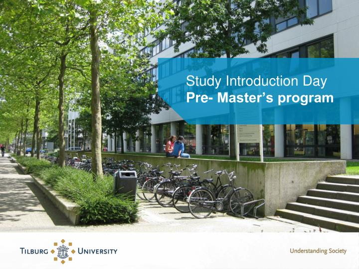 Study introduction day pre master s program