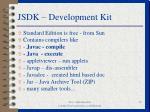 jsdk development kit