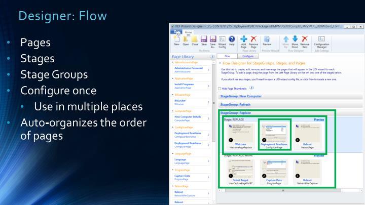 Designer: Flow
