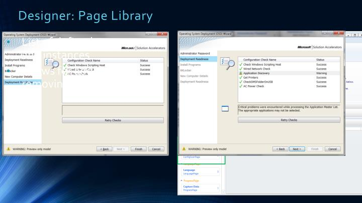 Designer: Page Library