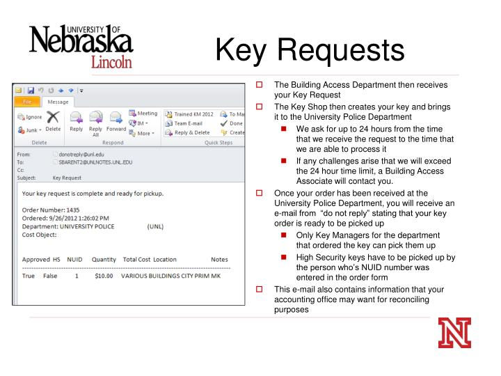 Key Requests