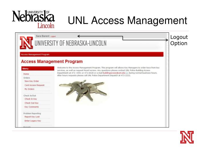 UNL Access Management