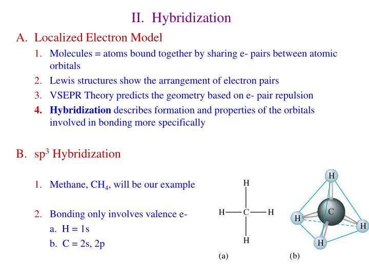 II.  Hybridization