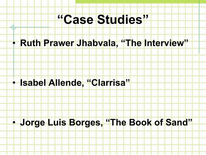 """""""Case Studies"""""""