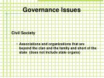 governance issues1