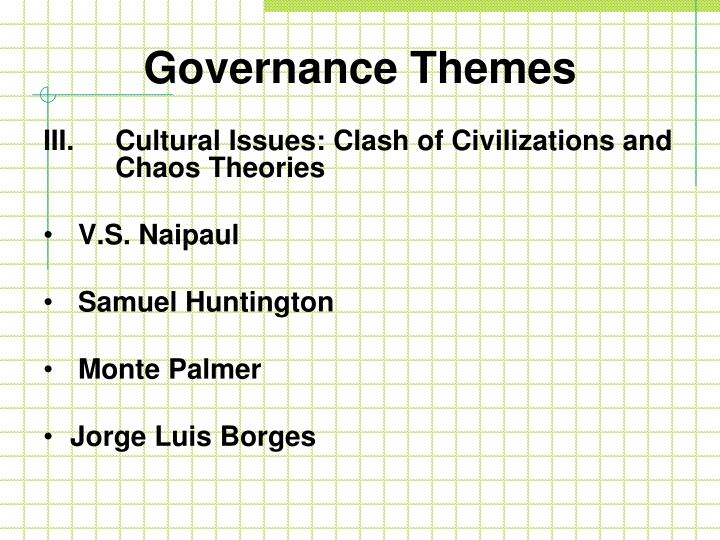 Governance Themes