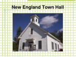 new england town hall