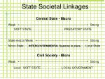 state societal linkages