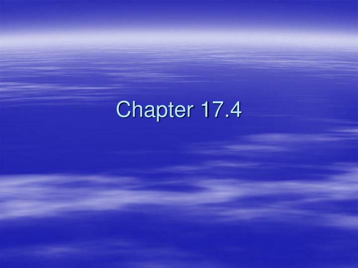 Chapter 17.4