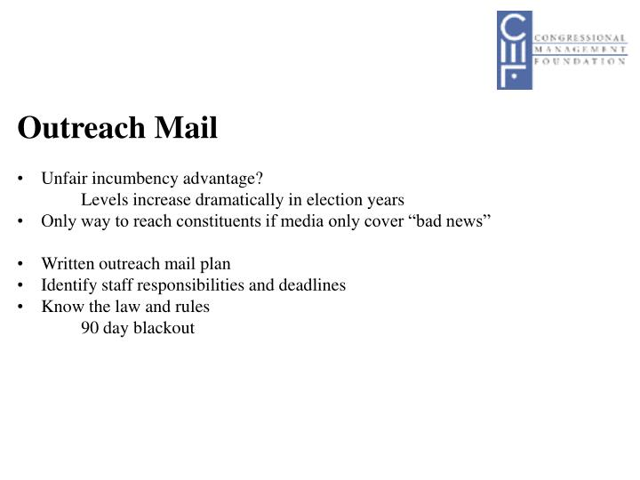 Outreach Mail