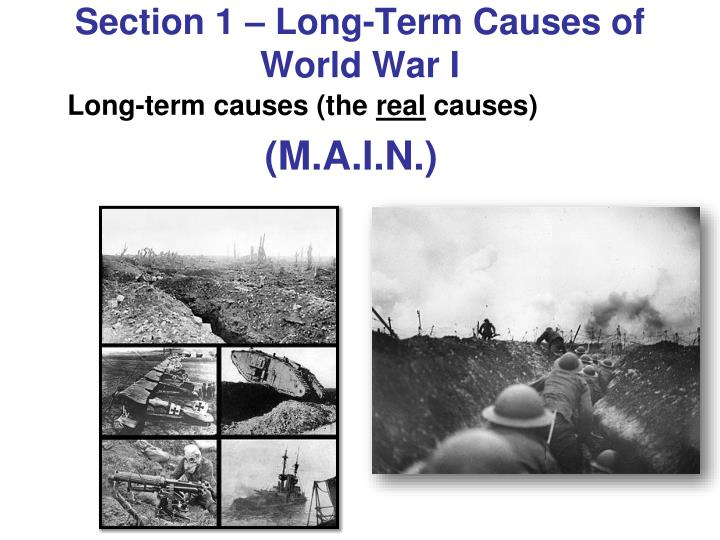 causes of world war 1 essay Causes of world war 1 essay sample - don't miss the interesting article in our blog.