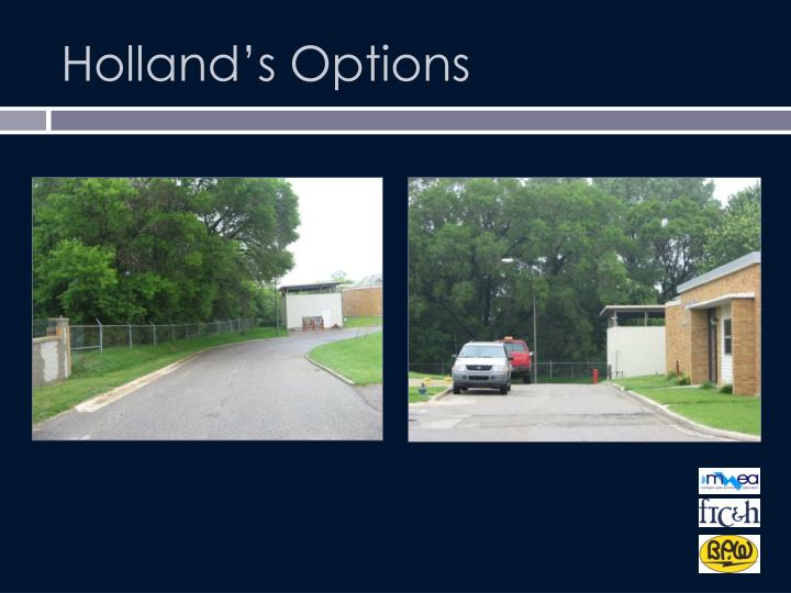 Holland's Options