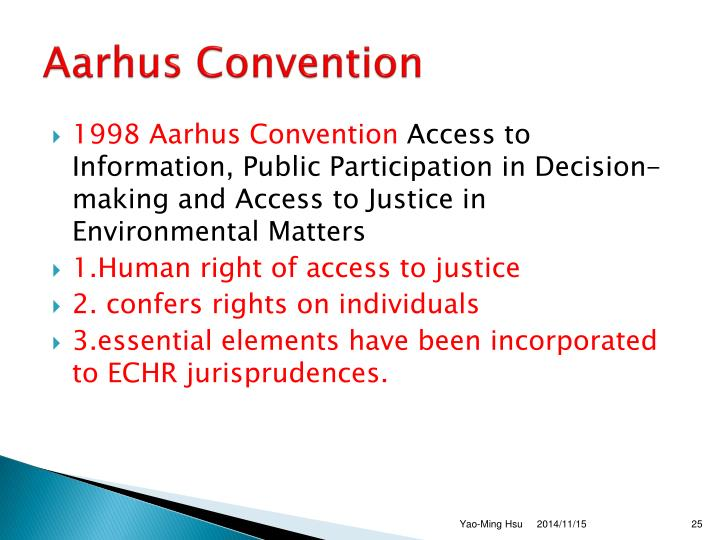 Aarhus Convention