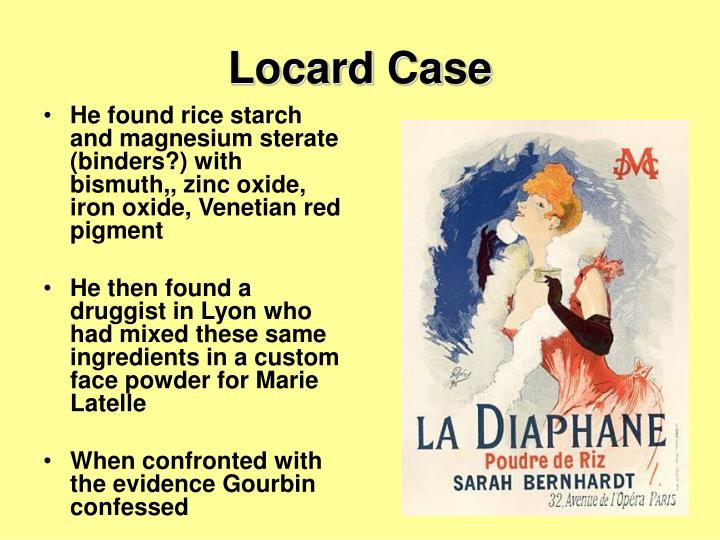 Locard Case
