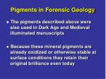 pigments in forensic geology15