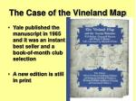 the case of the vineland map1