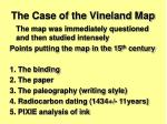 the case of the vineland map2
