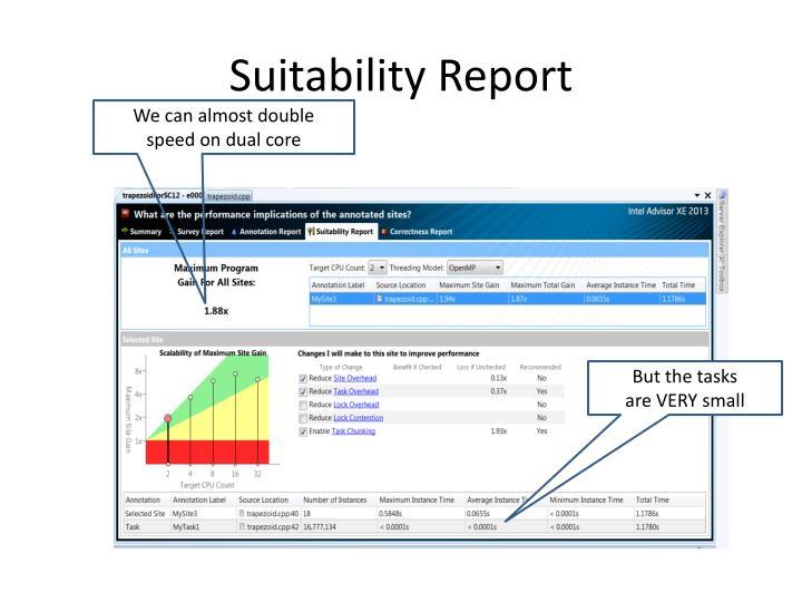 Suitability Report