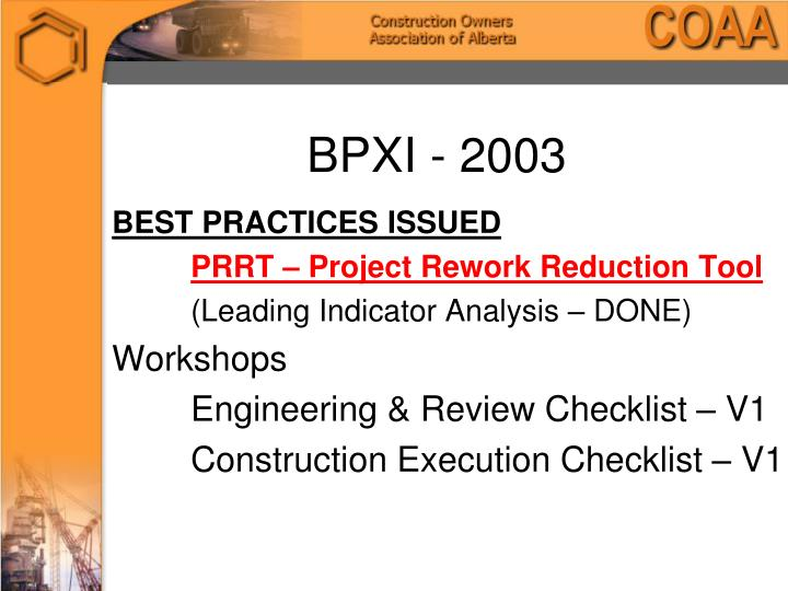 BPXI - 2003