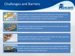 challenges and barriers2