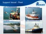 support vessel fleet2
