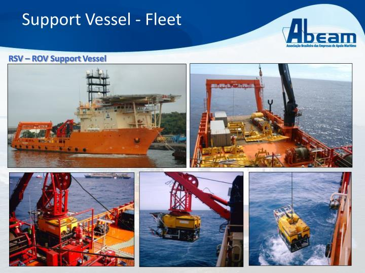 Support Vessel - Fleet