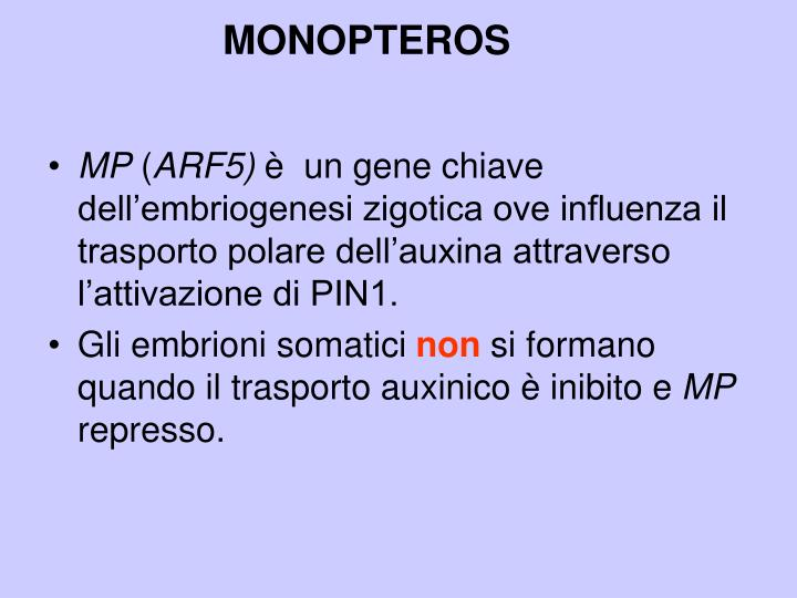 MONOPTEROS