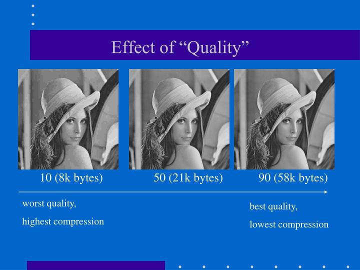 "Effect of ""Quality"""