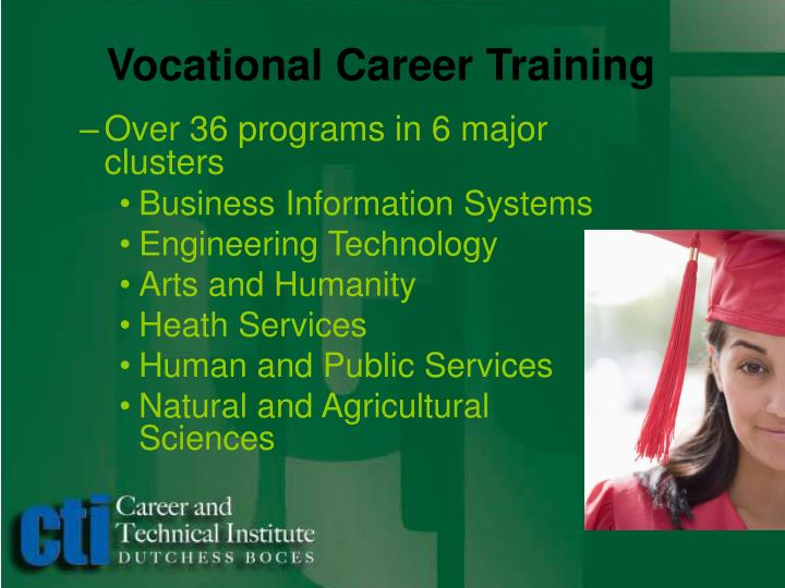Vocational Career Training