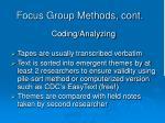 focus group methods cont1