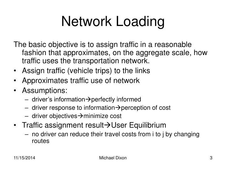Network Loading